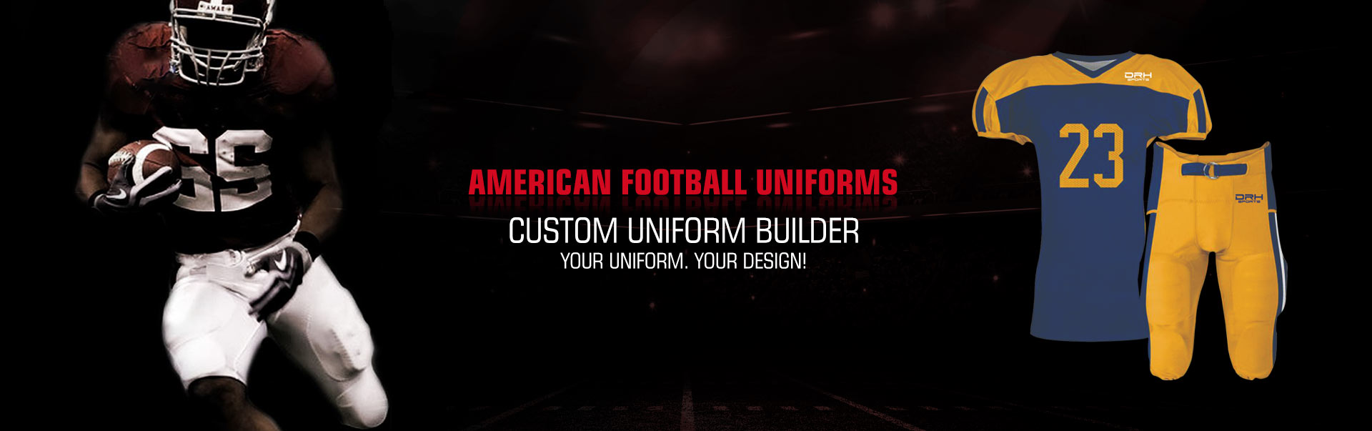 American Football Uniform Wholesaler, Suppliers in Orange