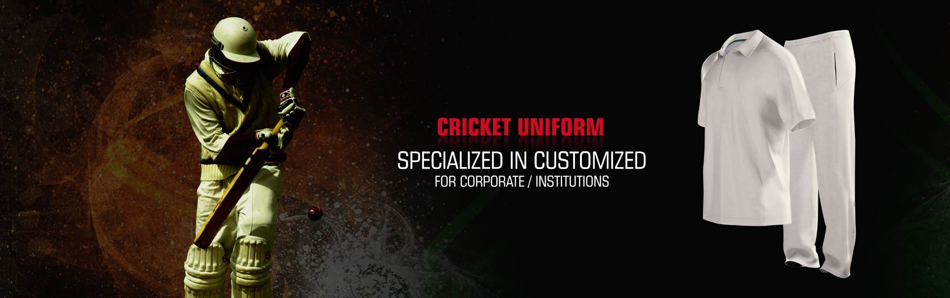 Cricket Uniform Wholesaler, Suppliers in Corona