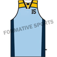 Customised Basketball Singlets Manufacturers