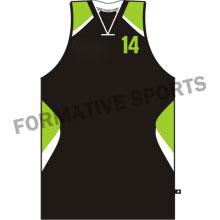 Customised Cut And Sew Basketball Singlets Manufacturers USA, UK Australia