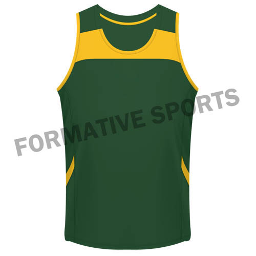 Custom Cut And Sew Singlets Manufacturers and Suppliers in Ireland