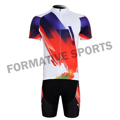 Custom Cycling Suits Manufacturers and Suppliers