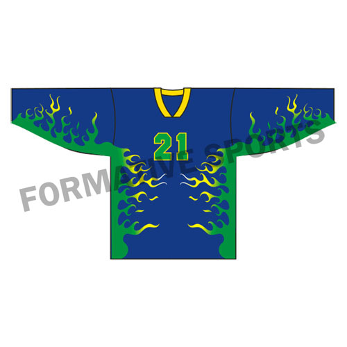 Custom Ice Hockey Jersey Manufacturers and Suppliers in Tonga