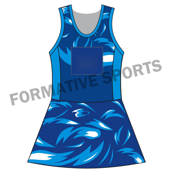 Custom Netball Suits Manufacturers and Suppliers in Afghanistan