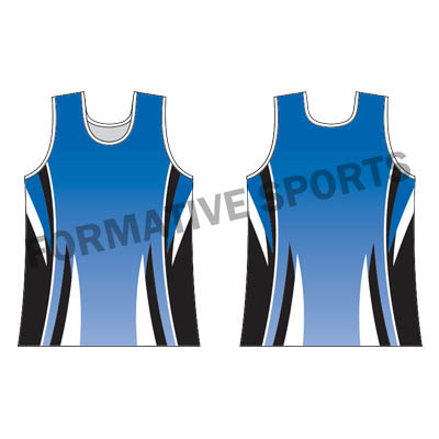 Custom Sublimated Singlets Manufacturers and Suppliers in Gladstone