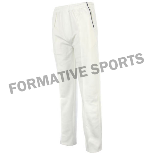 Custom Test Cricket Pants Manufacturers and Suppliers in Thailand
