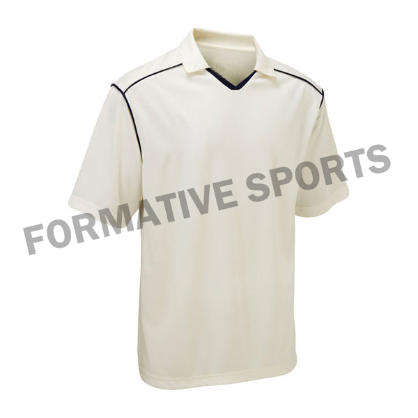 Custom Test Cricket Shirts Manufacturers and Suppliers in Tonga