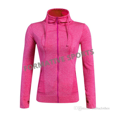 Customised Womens Gym Jacket Manufacturers