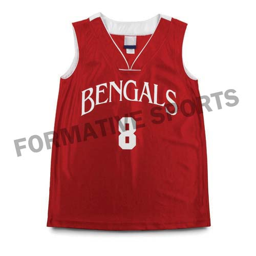 Basketball Uniforms Elegantly Crafted In Custom Sublimated Designs