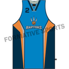 Customised Sublimated Basketball Singlets Manufacturers in Melton