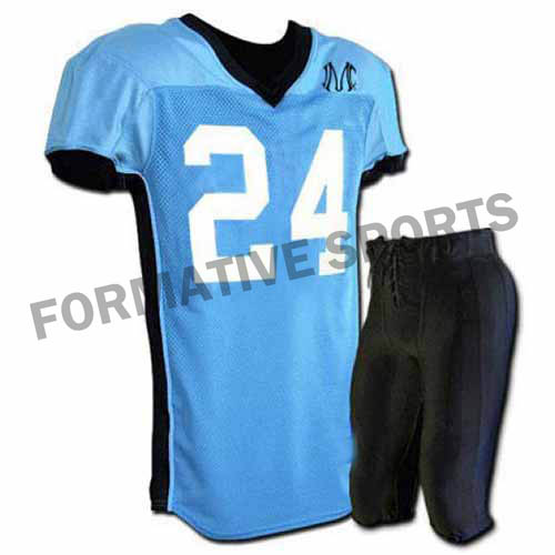 Customised American Football Uniforms Manufacturers in Afghanistan