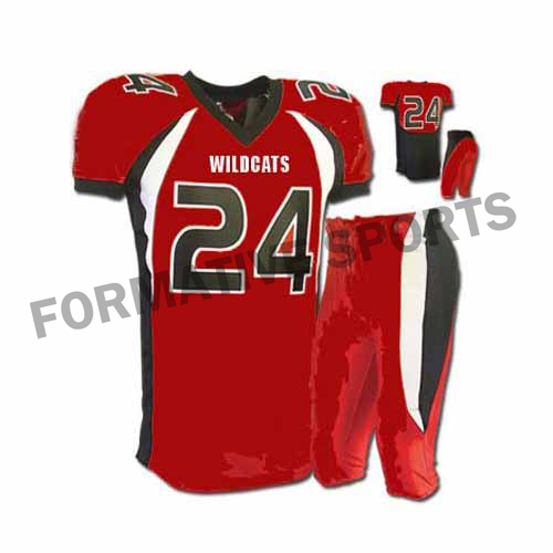 Customised American Football Uniforms Manufacturers in Lithuania