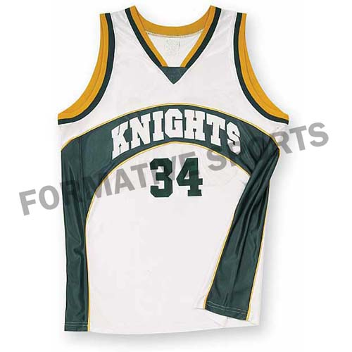Customised Basketball Jerseys Manufacturers in Lismore
