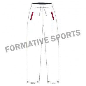 Customised White Cricket Trousers Manufacturers in Albania