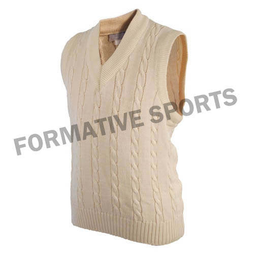 Customised Men Cricket Vests Manufacturers in Tonga