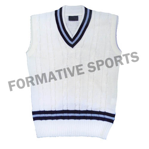Customised Cricket Team Vest Manufacturers in Congo