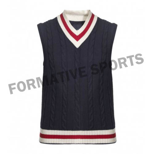 Customised Custom Cricket Vests Manufacturers
