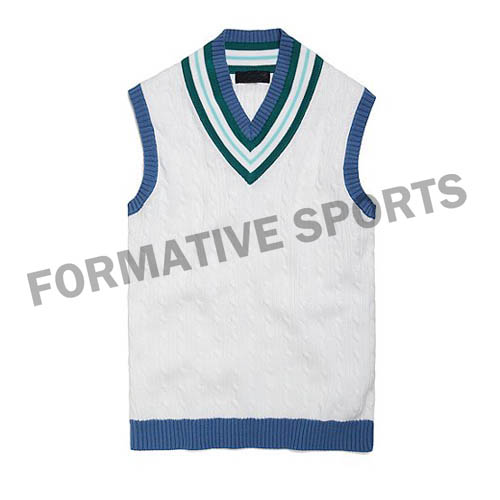 Customised Women Cricket Vests Manufacturers in Congo