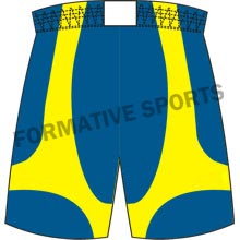 Customised Cut And Sew Basketball Team Shorts Manufacturers in Montenegro