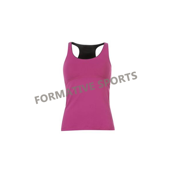 Customised Ladies Sports Tops Manufacturers in Belgium