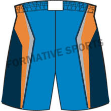 Sublimated Basketball Team ShortsExporters in Orange