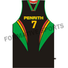 Customised Sublimation Basketball Team Singlet Manufacturers USA, UK Australia