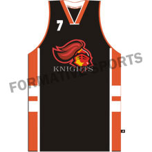 Customised Custom Sublimated Basketball Singlets Manufacturers in Monaco