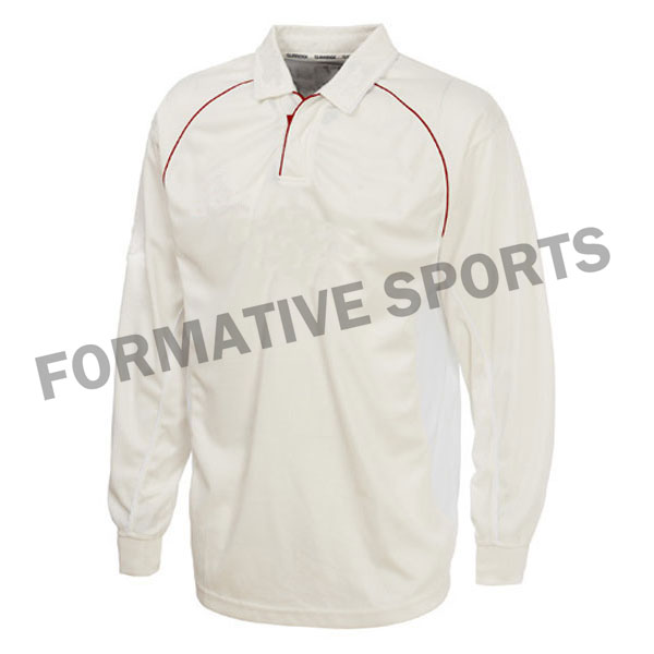 Customised Test Cricket Shirt Manufacturers in Sweden