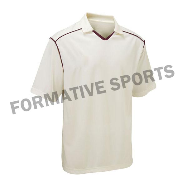 Customised Test Cricket Shirt Manufacturers in Afghanistan