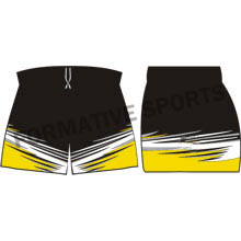 Customised Custom AFL Shorts Manufacturers