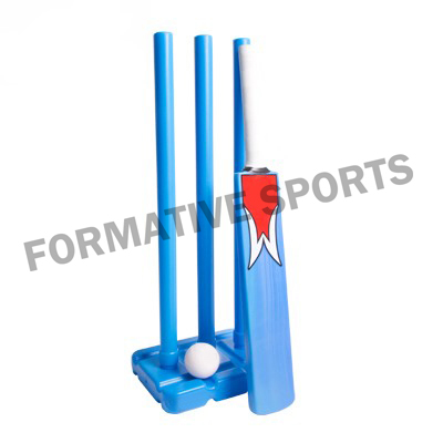 Customised Plastic Beach Cricket Set Manufacturers USA, UK Australia