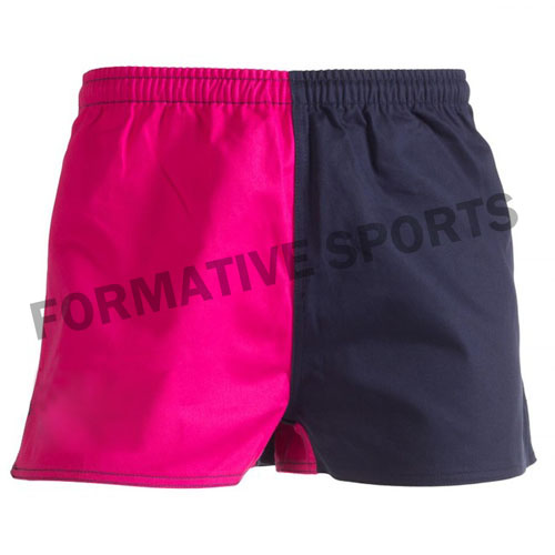 Customised Cotton Rugby Shorts Manufacturers in Newport
