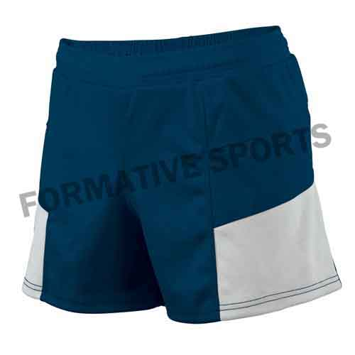 Customised Cotton Rugby Team Shorts Manufacturers in Newport