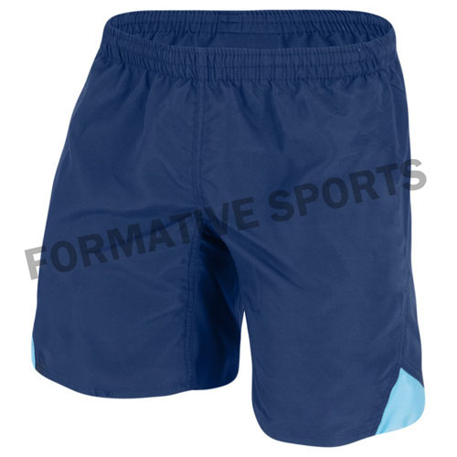 custom cotton rugby shorts