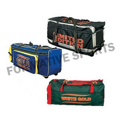 Customised Cricket Bag Manufacturers USA, UK Australia
