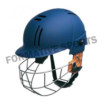 Customised Junior Cricket Helmet Manufacturers in North Korea