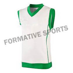 Customised Sublimated Cricket Vest Manufacturers