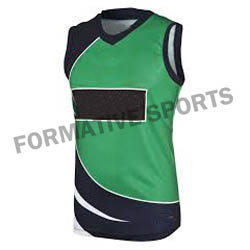 Customised V Neck Cricket Vests Manufacturers in Tonga