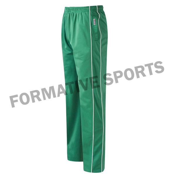 Customised Cut And Sew One Day Cricket Pants Manufacturers USA, UK Australia