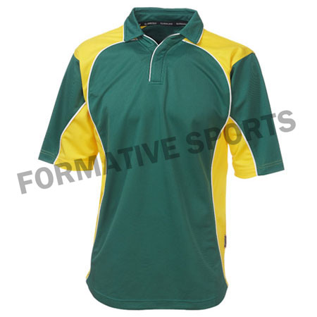 Customised One Day Cricket Shirts Manufacturers in Italy