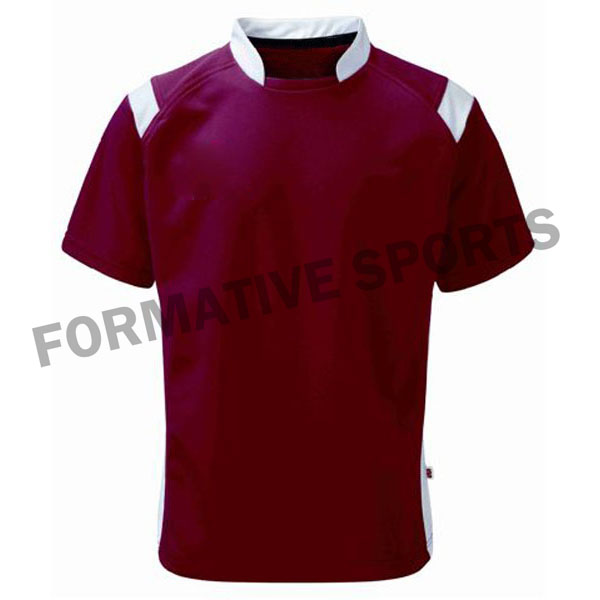 Customised Cut And Sew Rugby Jersey Manufacturers in Czech Republic