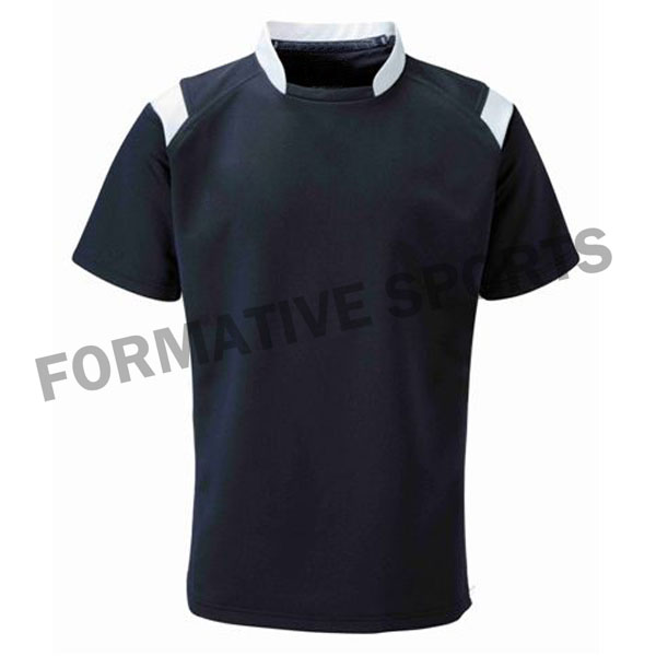 Customised Cut N Sew Rugby Jerseys Manufacturers in Albania
