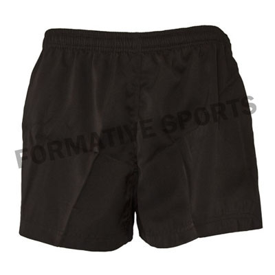 Customised Custom Cut N Sew Rugby Team Shorts Manufacturers in Brazil