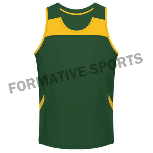 Customised Cut And Sew Singlets Manufacturers in Ireland