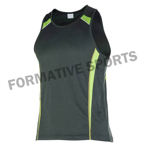 Customised Cut And Sew Singlets Manufacturers in New Zealand