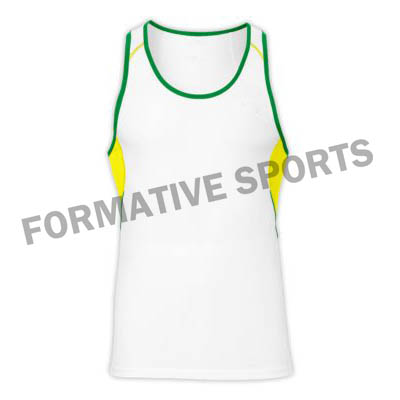 Customised Cut And Sew Singlets Manufacturers in Sweden