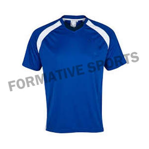 Customised Custom Cut N Sew Team T Shirts Manufacturers