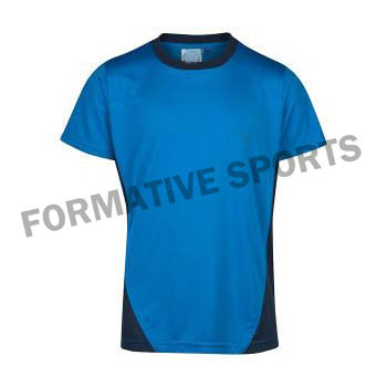 Customised Sublimation Cut And Sew T Shirts Manufacturers
