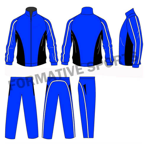 Customised Sublimated Cut And Sew Tracksuits Manufacturers USA, UK Australia