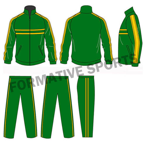 Customised Custom Cut And Sew Tracksuits Manufacturers USA, UK Australia